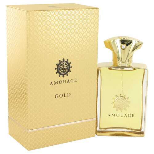Amouage Gold by Amouage Eau De Parfum Spray 3.4 oz (Men)