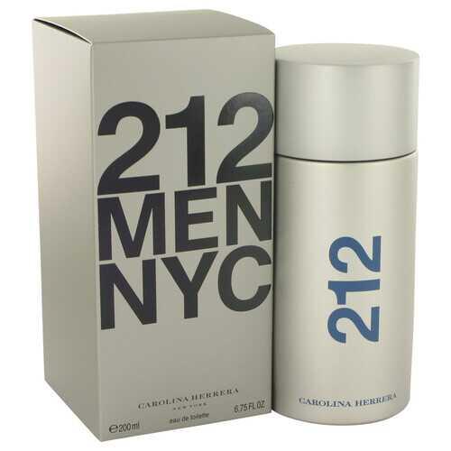 212 by Carolina Herrera Eau De Toilette Spray 6.8 oz (Men)