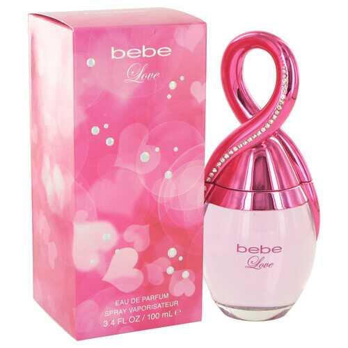 Bebe Love by Bebe Eau De Parfum Spray 3.4 oz (Women)