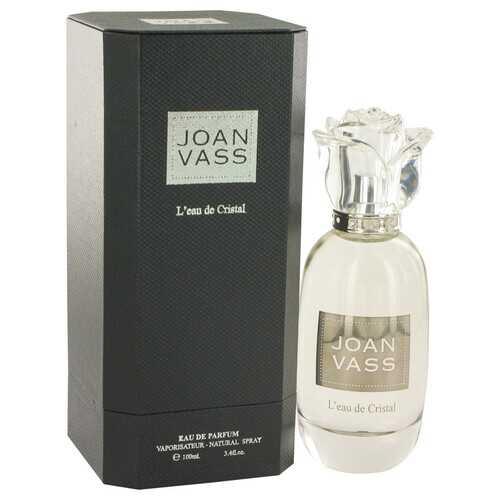 L'eau De Cristal by Joan Vass Eau De Parfum Spray 3.4 oz (Women)