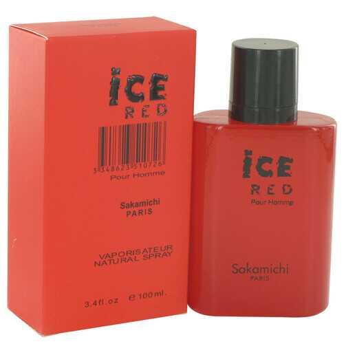 Ice Red by Sakamichi Eau De Parfum Spray 3.4 oz (Men)
