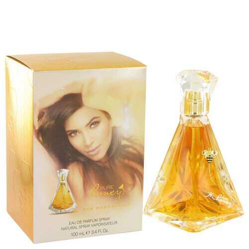 Kim Kardashian Pure Honey by Kim Kardashian Eau De Parfum Spray 3.4 oz (Women)