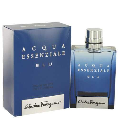 Acqua Essenziale Blu by Salvatore Ferragamo Eau De Toilette Spray 3.4 oz (Men)