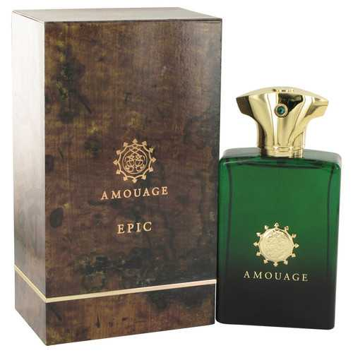 Amouage Epic by Amouage Eau De Parfum Spray 3.4 oz (Men)