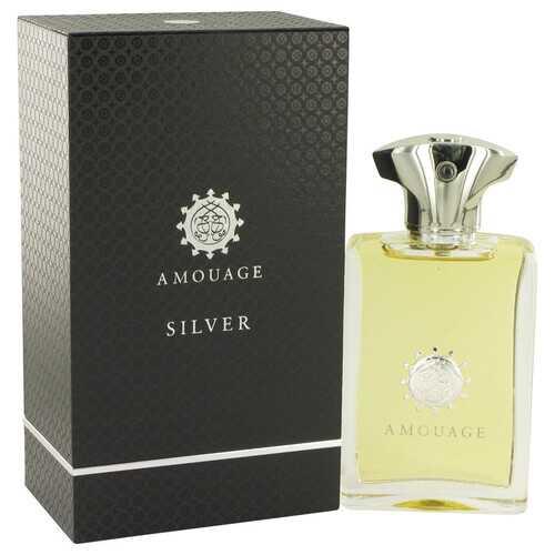 Amouage Silver by Amouage Eau De Parfum Spray 3.4 oz (Men)