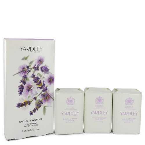 English Lavender by Yardley London 3 x 3.5 oz Soap 3.5 oz (Women)
