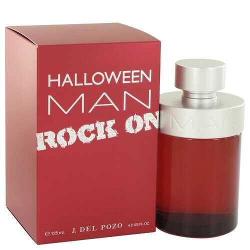 Halloween Man Rock On by Jesus Del Pozo Eau De Toilette Spray 4.2 oz (Men)