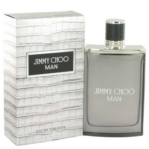 Jimmy Choo Man by Jimmy Choo Eau De Toilette Spray 3.3 oz (Men)