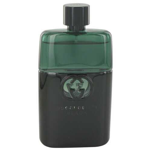 Gucci Guilty Black by Gucci Eau De Toilette Spray (Tester) 3 oz (Men)