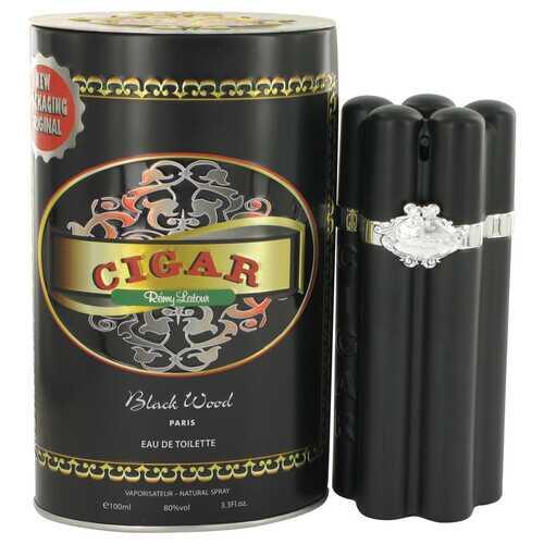 Cigar Black Wood by Remy Latour Eau De Toilette Spray 3.3 oz (Men)