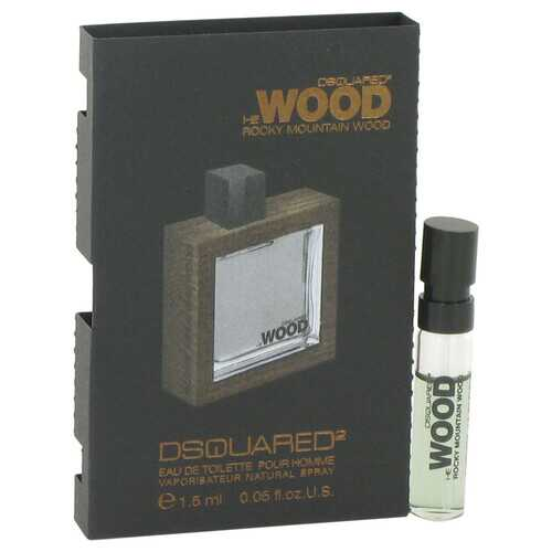 He Wood Rocky Mountain Wood by Dsquared2 Vial (sample) .05 oz (Men)