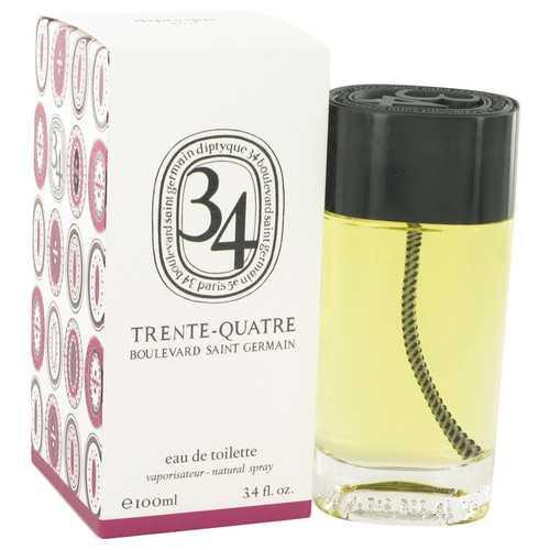 34 boulevard saint germain by Diptyque Eau De Toilette Spray (Unisex) 3.4 oz (Women)