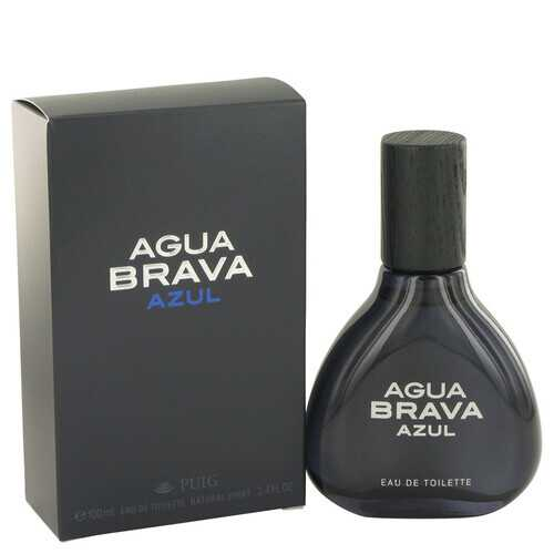 Agua Brava Azul by Antonio Puig Eau De Toilette Spray 3.4 oz (Men)
