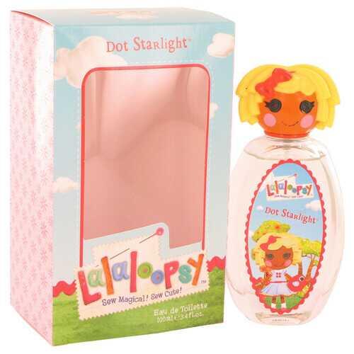 Lalaloopsy by Marmol & Son Eau De Toilette Spray (Dot Starlight) 3.4 oz (Women)