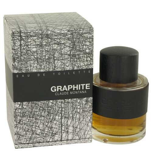 Graphite by Montana Eau De Toilette Spray 3.4 oz (Men)
