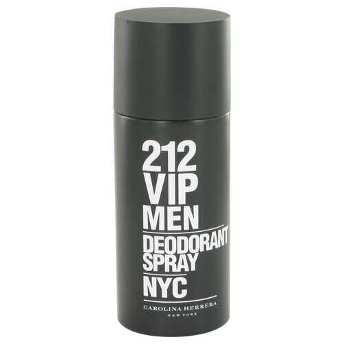 212 Vip by Carolina Herrera Deodorant Spray 5 oz (Men)