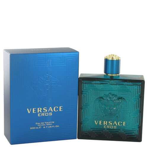 Versace Eros by Versace Eau De Toilette Spray 6.7 oz (Men)