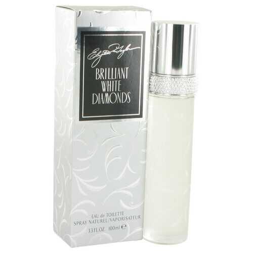 White Diamonds Brilliant by Elizabeth Taylor Eau De Toilette Spray 3.3 oz (Women)