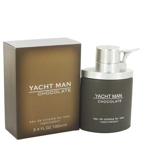 Yacht Man Chocolate by Myrurgia Eau De Toilette Spray 3.4 oz (Men)