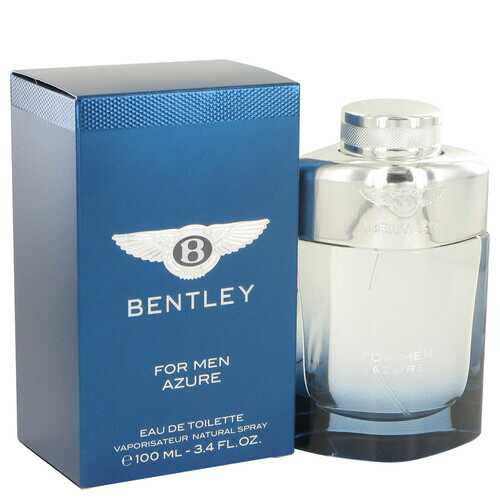 Bentley Azure by Bentley Eau De Toilette Spray 3.4 oz (Men)