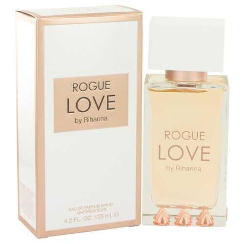 Rihanna Rogue Love by Rihanna Eau De Parfum Spray 4.2 oz (Women)