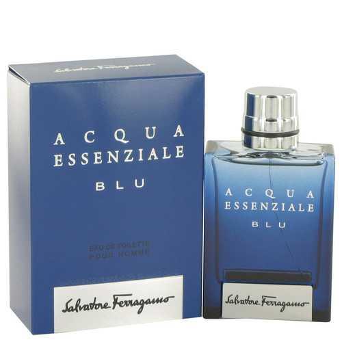 Acqua Essenziale Blu by Salvatore Ferragamo Eau De Toilette Spray 1.7 oz (Men)