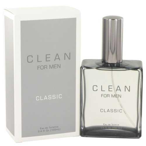 Clean Men by Clean Eau De Toilette Spray 3.4 oz (Men)