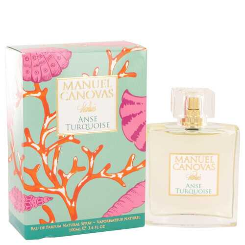 Anse Turquoise by Manuel Canovas Eau De Parfum Spray 3.4 oz (Women)