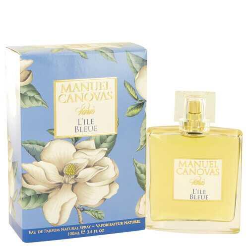 L'ile Bleue by Manuel Canovas Eau De Parfum Spray 3.4 oz (Women)