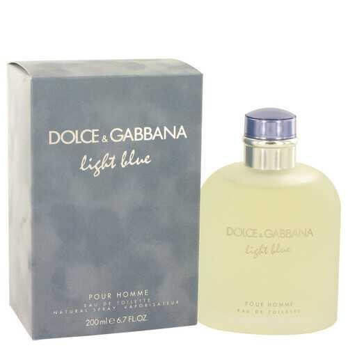 Light Blue by Dolce & Gabbana Eau De Toilette Spray 6.8 oz (Men)
