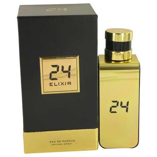 24 Gold Elixir by ScentStory Eau De Parfum Spray 3.4 oz (Men)