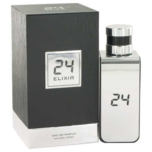 24 Platinum Elixir by ScentStory Eau De Parfum Spray 3.4 oz (Men)