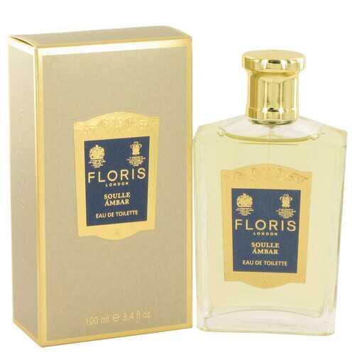 Floris Soulle Ambar by Floris Eau De Toilette Spray 3.4 oz (Women)