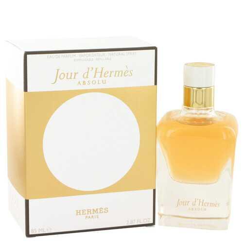 Jour D'hermes Absolu by Hermes Eau De Parfum Spray Refillable 2.87 oz (Women)