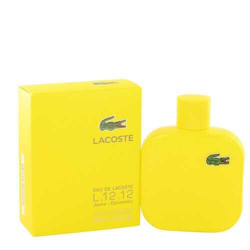 Lacoste Eau De Lacoste L.12.12 Jaune by Lacoste Eau De Toilette Spray 3.4 oz (Men)