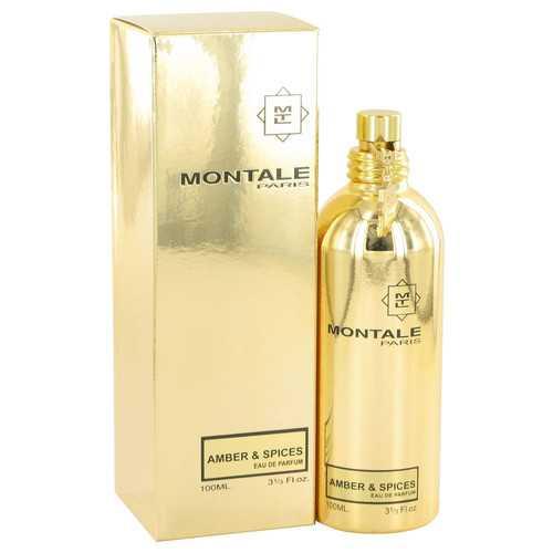 Montale Amber & Spices by Montale Eau De Parfum Spray (Unisex) 3.3 oz (Women)