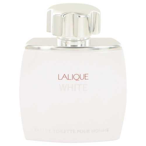 Lalique White by Lalique Eau De Toilette Spray (Tester) 2.5 oz (Men)