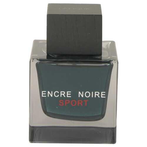 Encre Noire Sport by Lalique Eau De Toilette Spray (Tester) 3.3 oz (Men)