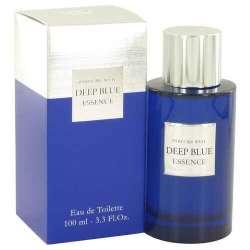 Deep Blue Essence by Weil Eau De Toilette Spray 3.3 oz (Men)
