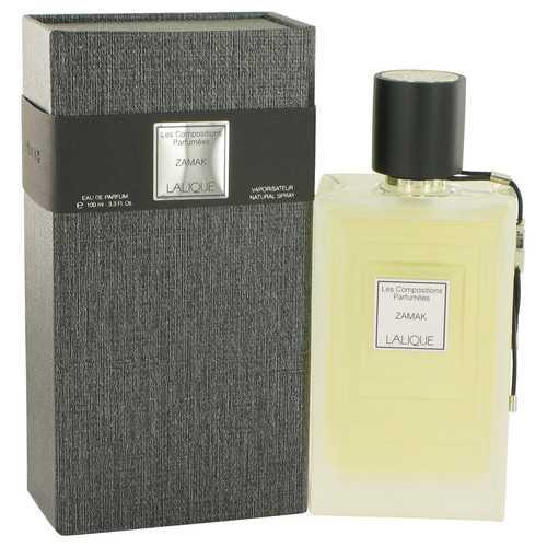 Les Compositions Parfumees Zamac by Lalique Eau De Parfum Spray 3.3 oz (Women)