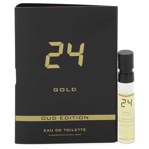 24 Gold Oud Edition by ScentStory Vial (sample) .05 oz (Men)