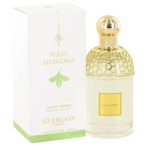 AQUA ALLEGORIA Limon Verde by Guerlain Eau De Toilette Spray 4.2 oz (Women)