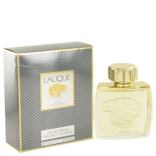 LALIQUE by Lalique Eau De Parfum Spray (LIon Head) 2.5 oz (Men)