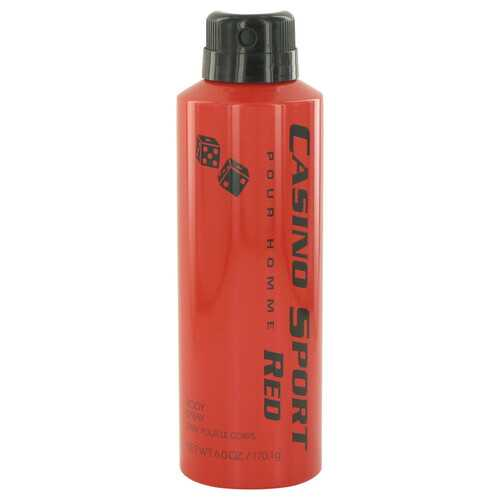 Casino Sport Red by Casino Perfumes Body Spray (No Cap) 6 oz (Men)