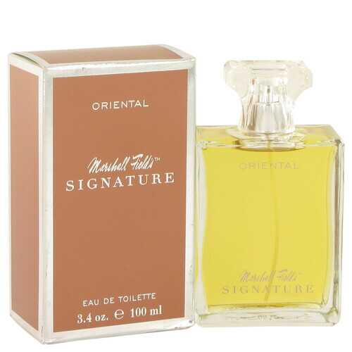 Marshall Fields Signature Oriental by Marshall Fields Eau De Toilette Spray (Scratched box) 3.4 oz (Women)