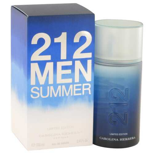 212 Summer by Carolina Herrera Eau De Toilette Spray (Limited Edition) 3.4 oz (Men)