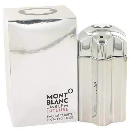 Montblanc Emblem Intense by Mont Blanc Eau De Toilette Spray 3.4 oz (Men)