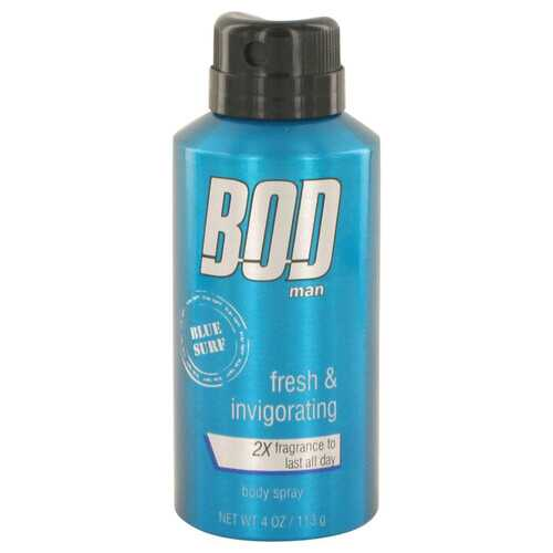 Bod Man Blue Surf by Parfums De Coeur Body spray 4 oz (Men)
