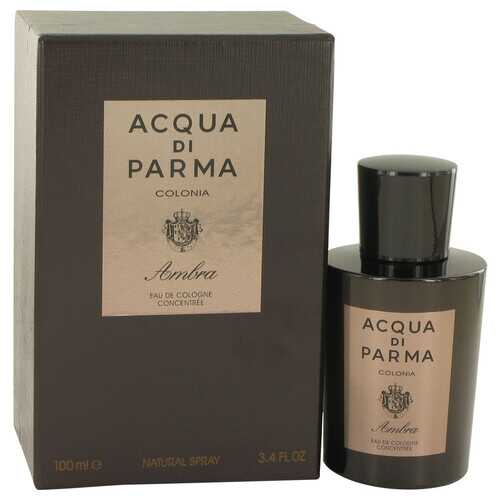 Acqua Di Parma Colonia Ambra by Acqua Di Parma Eau De Cologne Concentrate Spray 3.3 oz (Men)