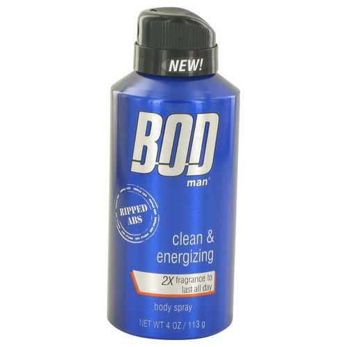 Bod Man Really Ripped Abs by Parfums De Coeur Fragrance Body Spray 4 oz (Men)